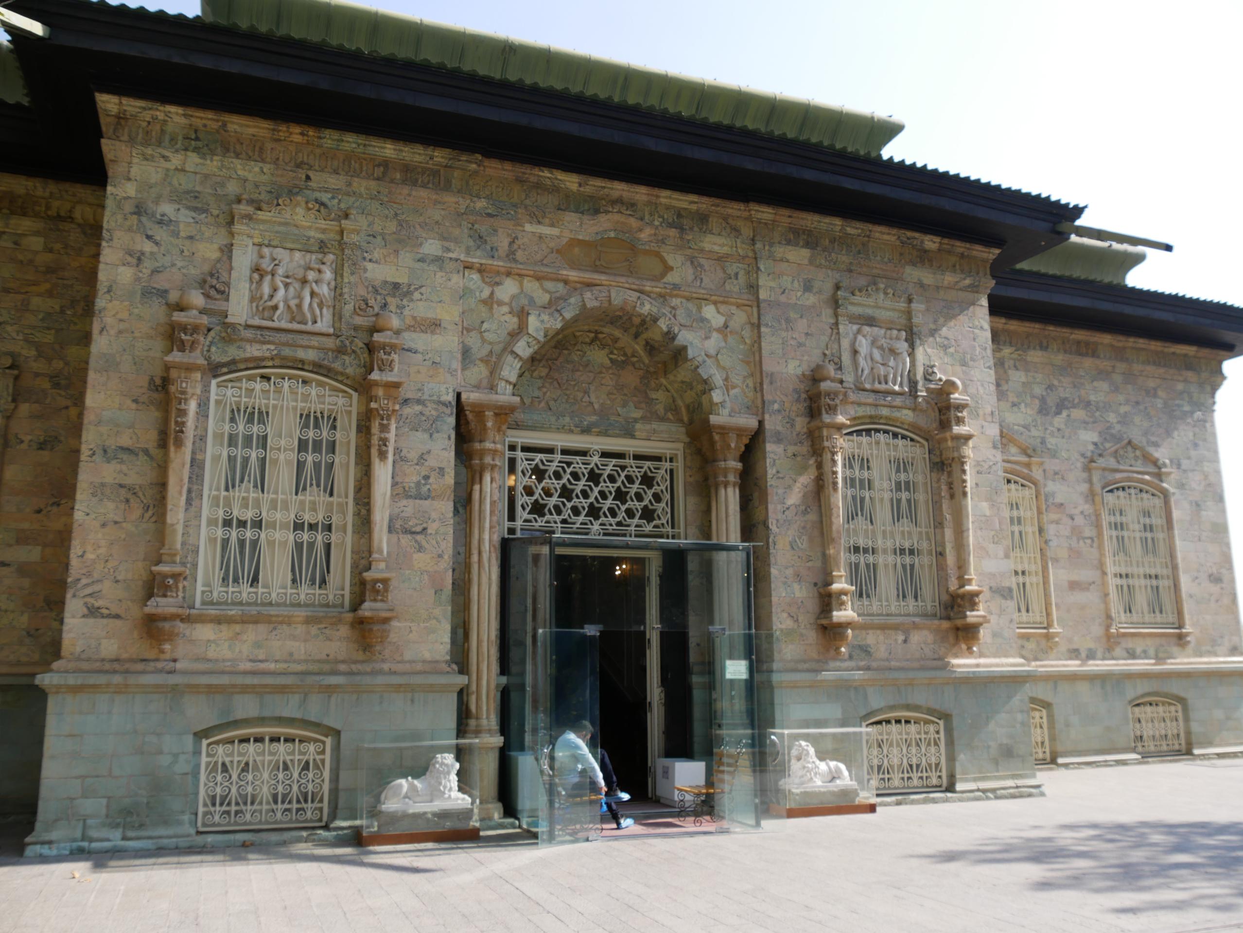 Palais des derniers Shah Iran