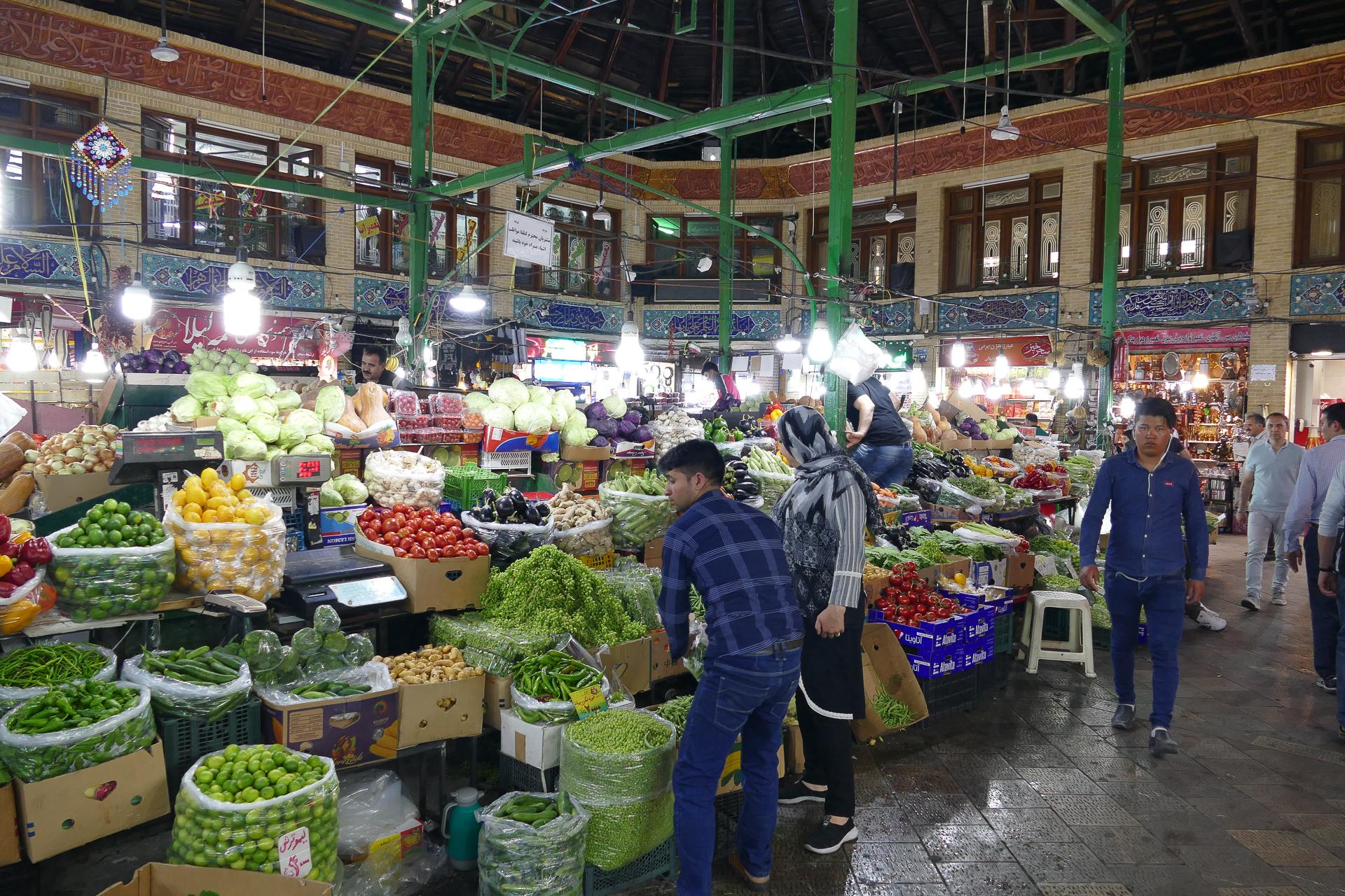 Bazar Téhéran