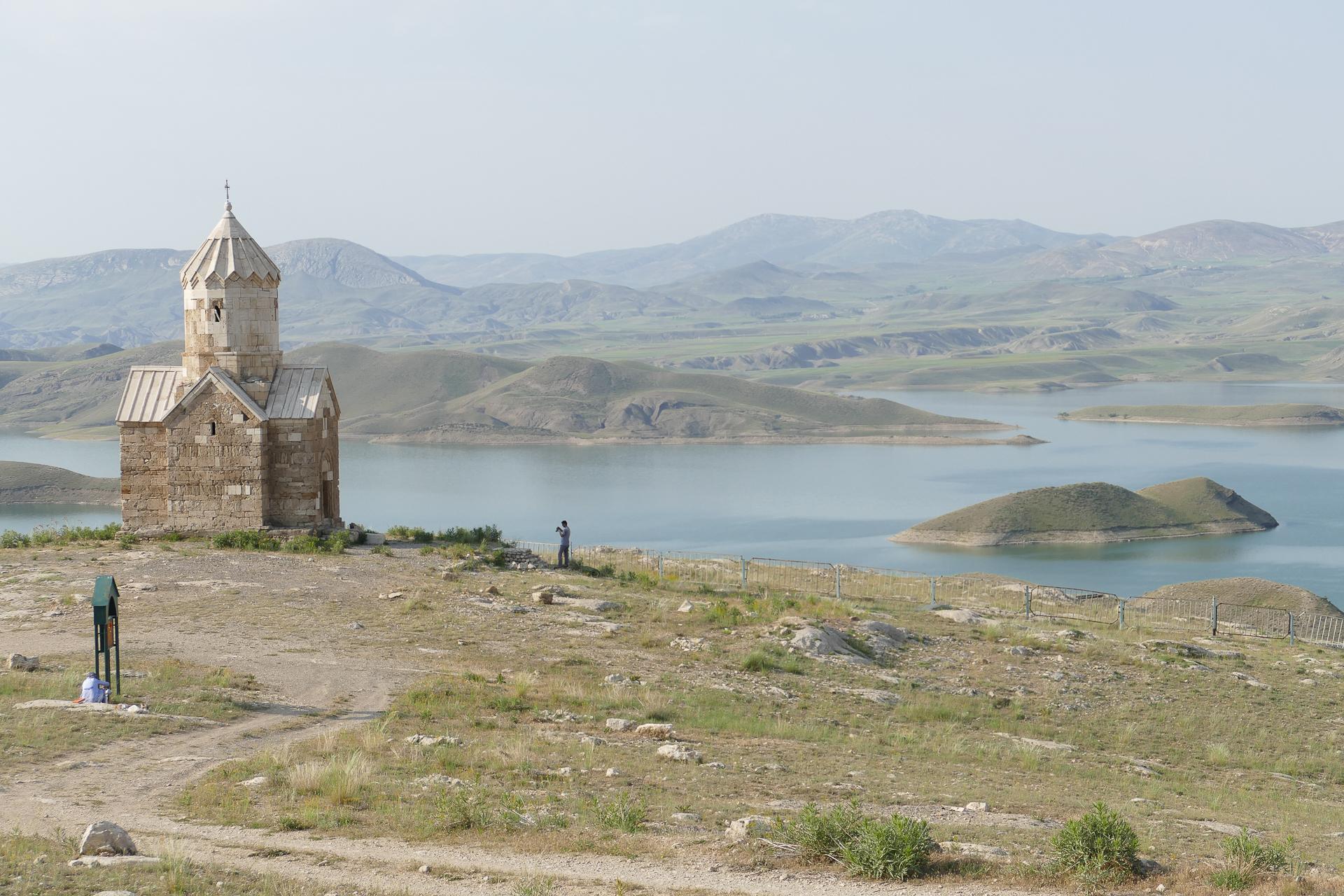 La Chapelle de Dzordzor avec unevue à couper le souffle