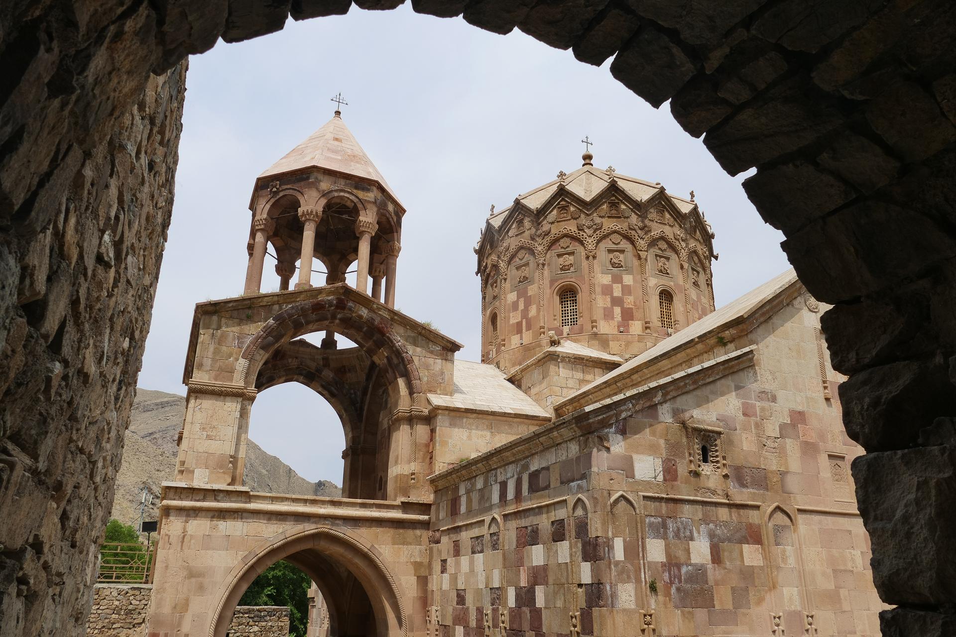 Monastère de St Stephanus et cour intérieure