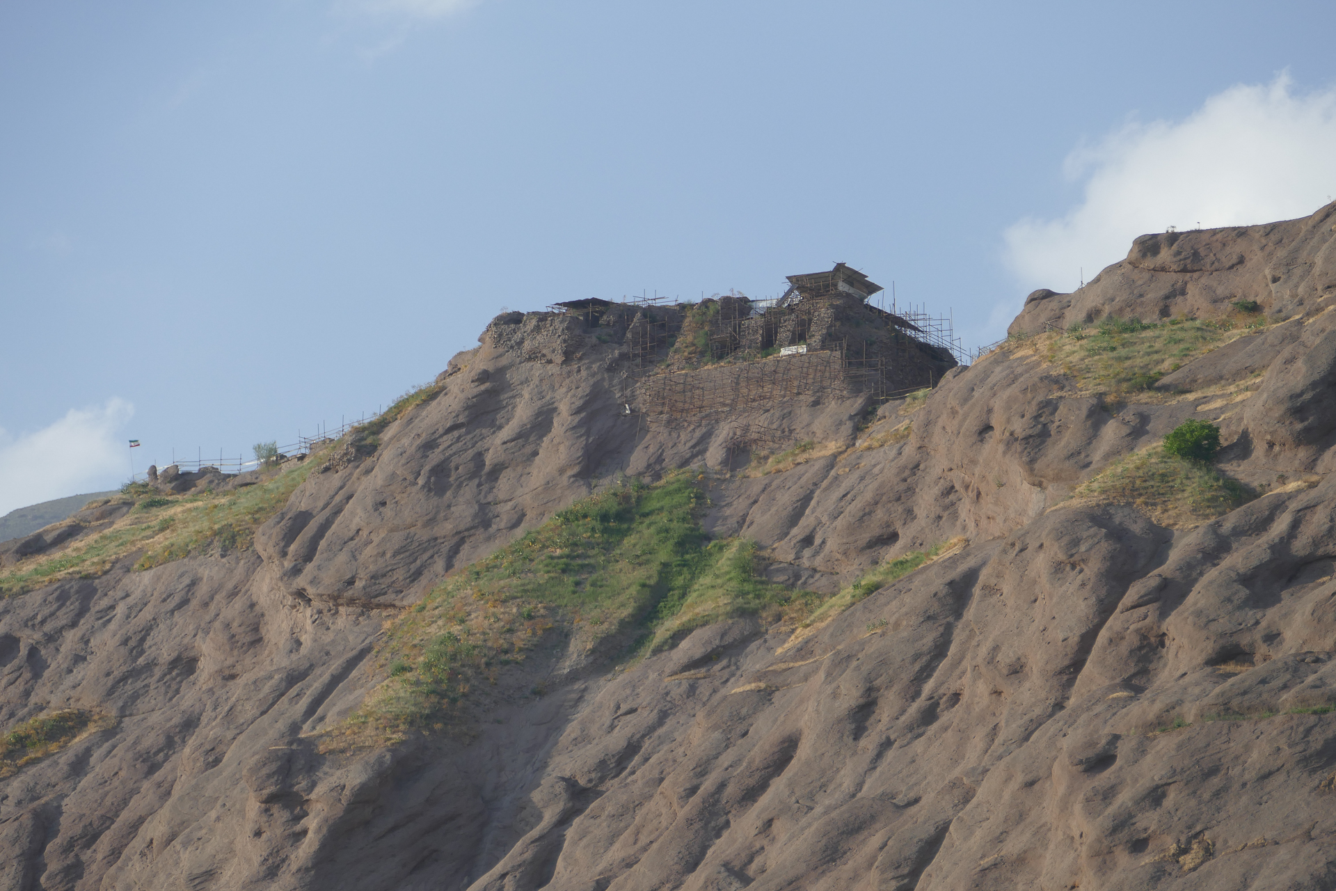 Vestiges de la forteresse d'Alamut