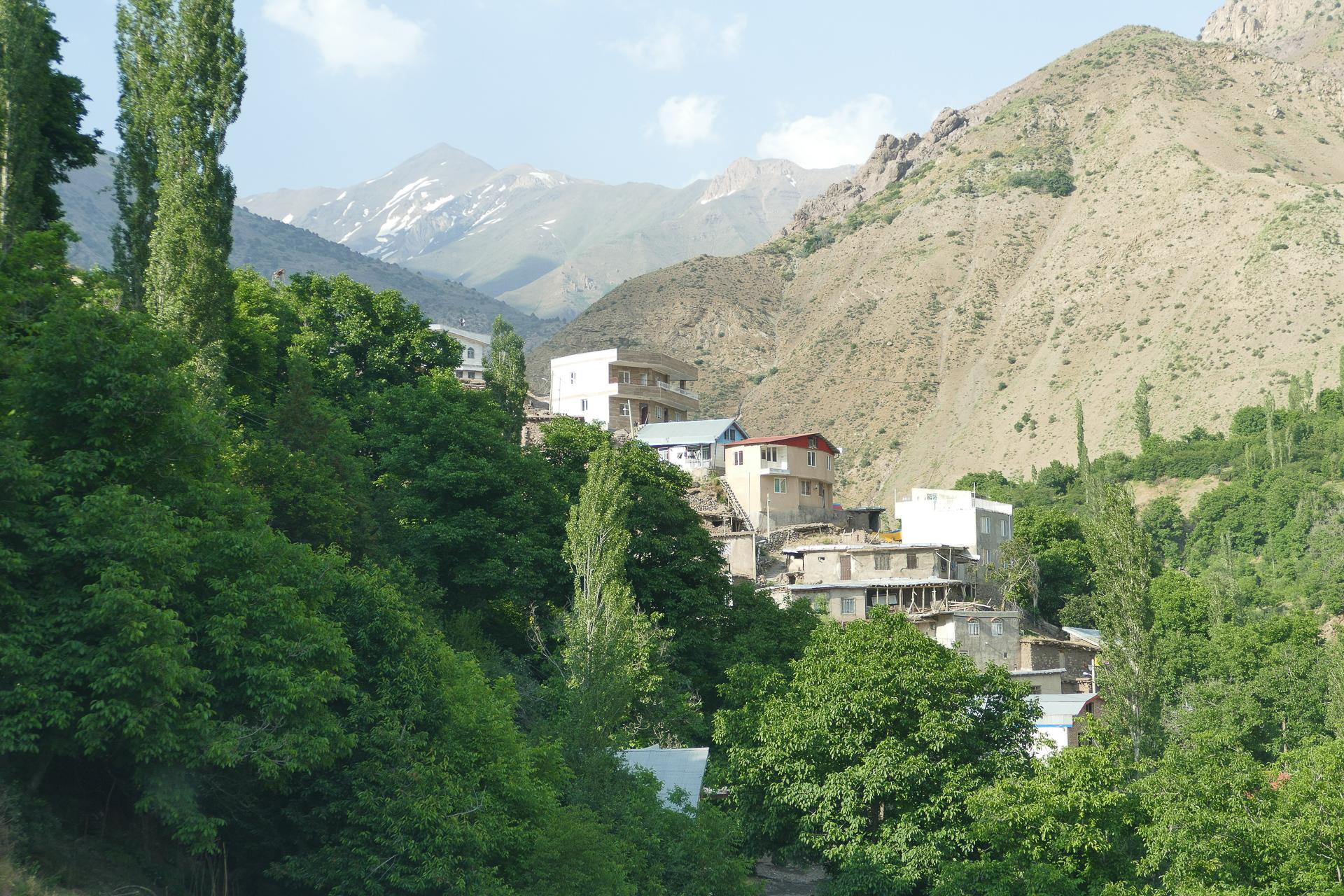 Village de montagne Haniz