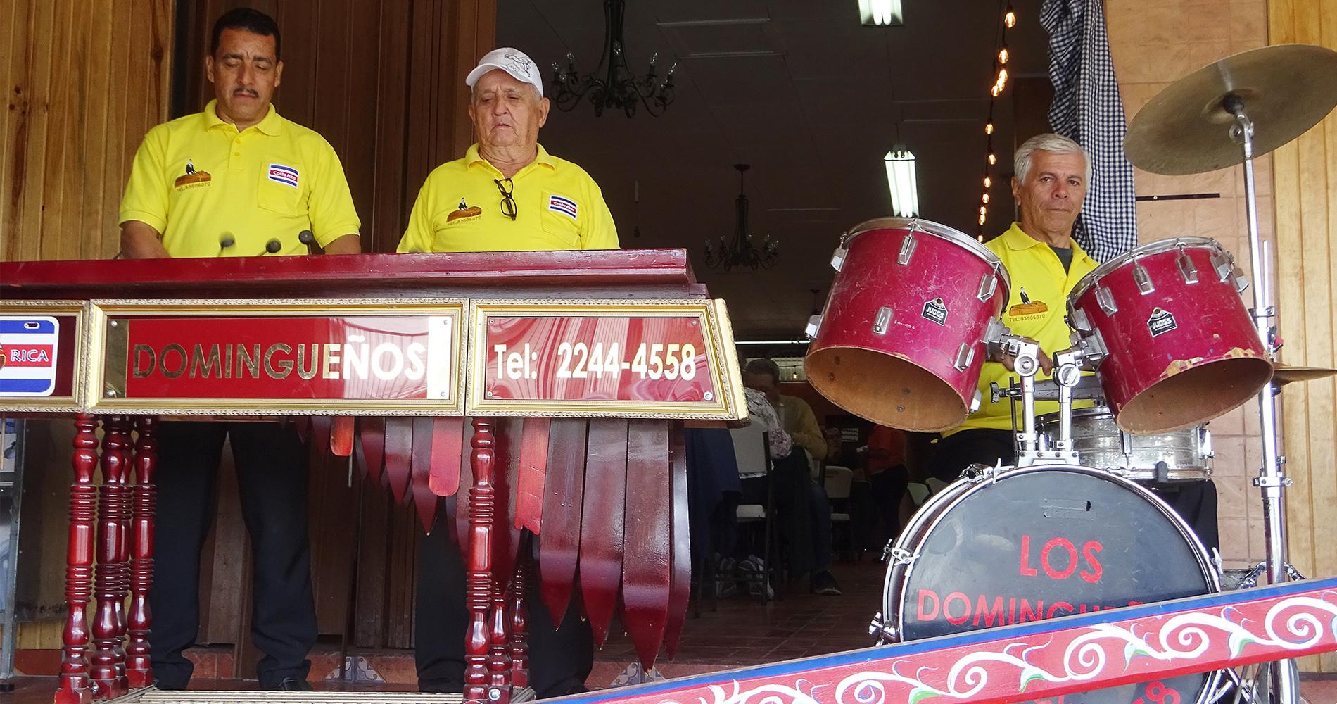 Marimba Orchestra Los Dominguenos
