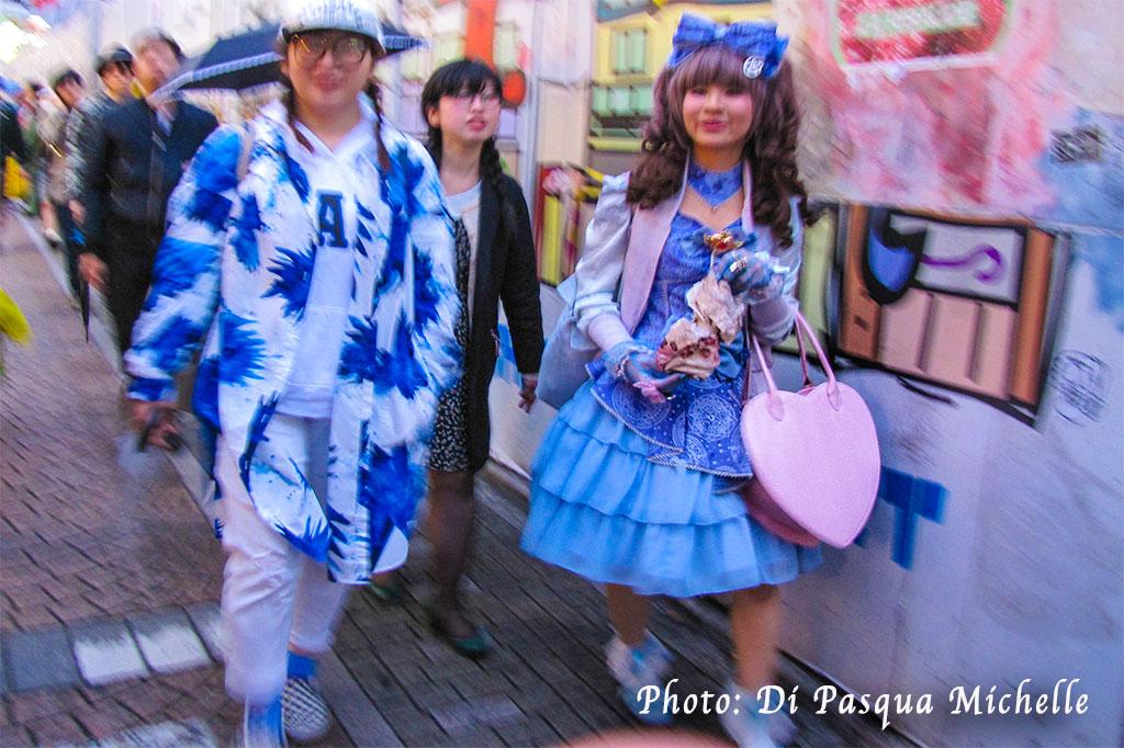 Dans la ruelle Takeshita à Harajuku, Tokyo