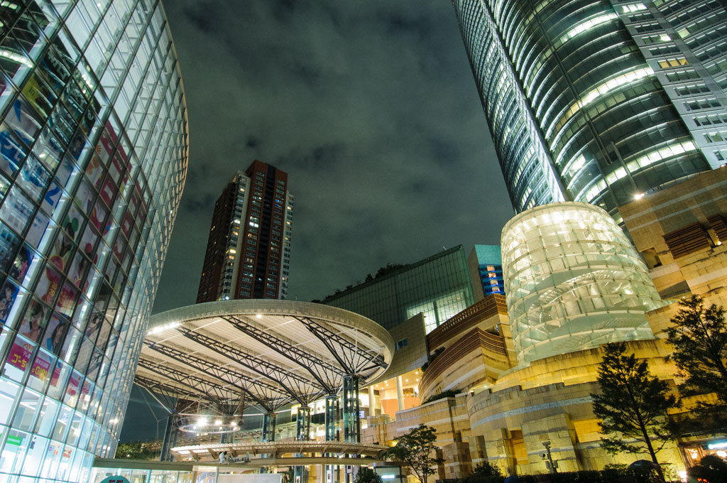 Architecture moderne de Roppongi Hills, Tokyo