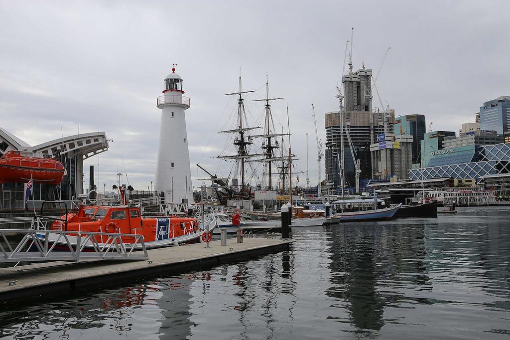 Le nouveau quartier de Darling Harbour