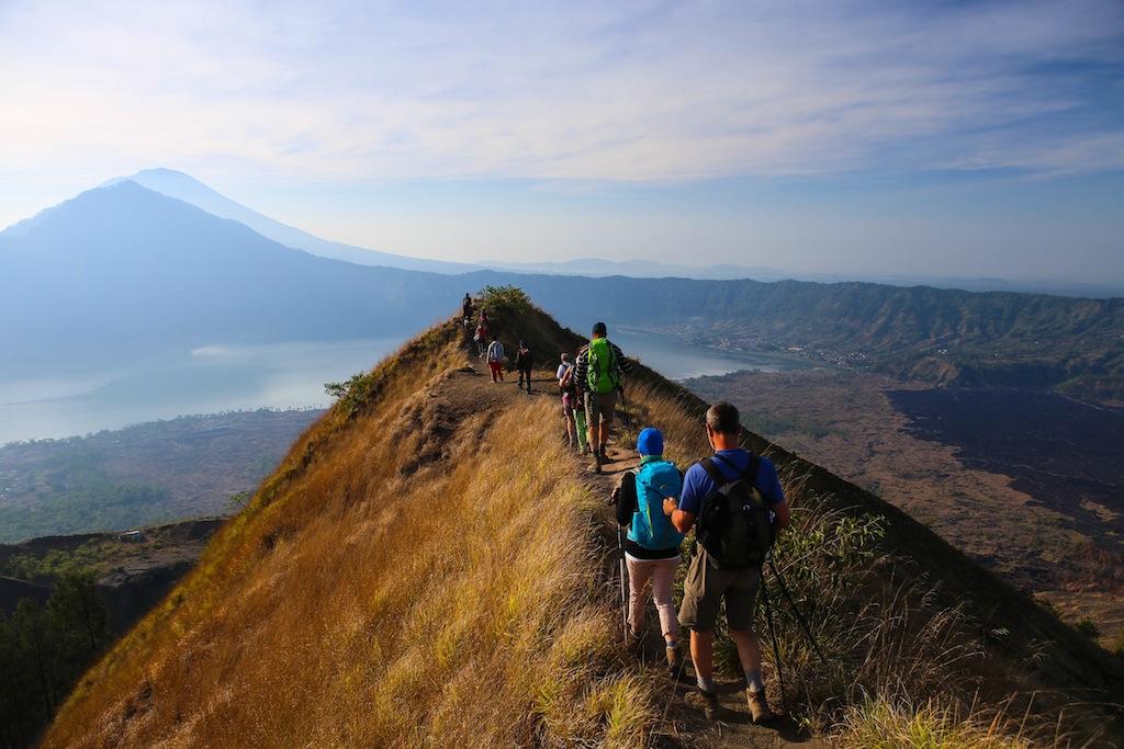 Pendant la descente du Mt Batur
