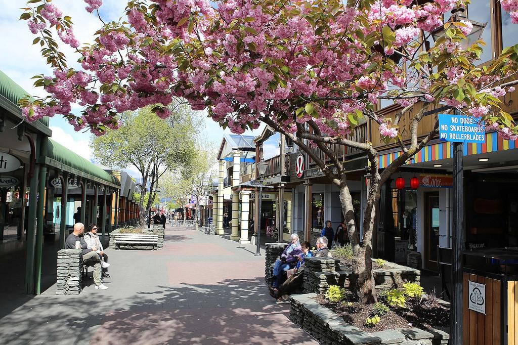 Queenstown, petite ville pleine de charme ... et de touristes