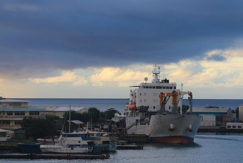 Le célèbre navire Arapanui