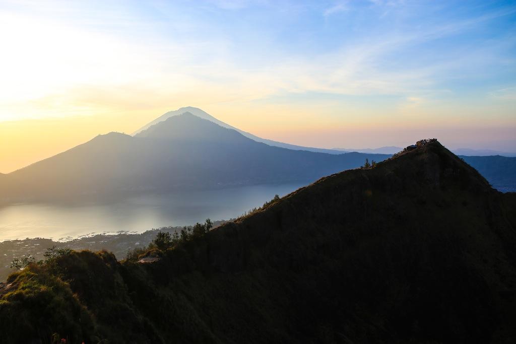 Au sommet du Batur