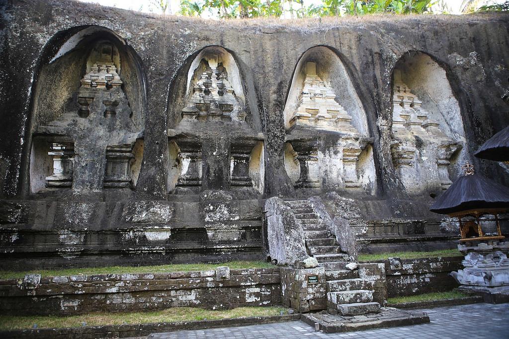 Bas relief à Gunung Kawi