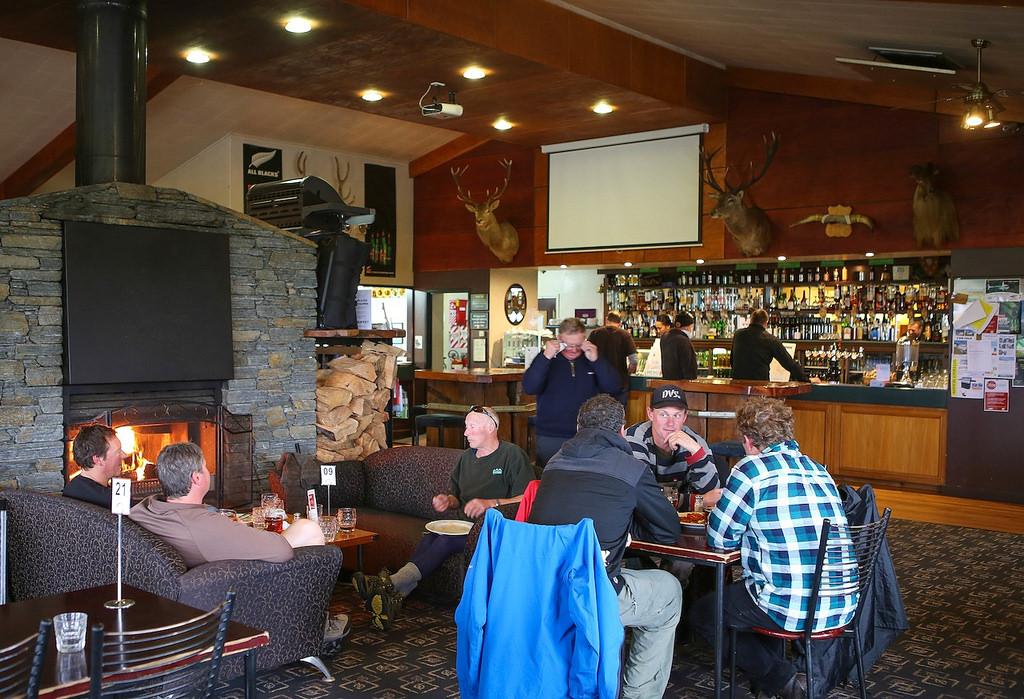 Le café de Haast, une certaine ambiance kiwi !