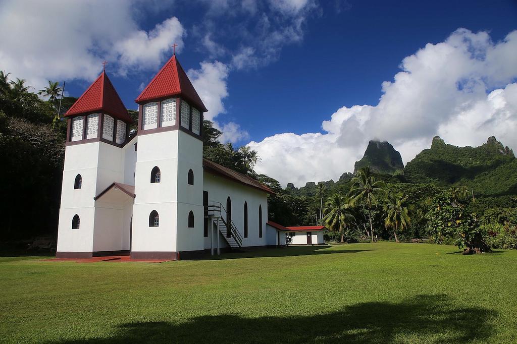 Eglise à Moorea