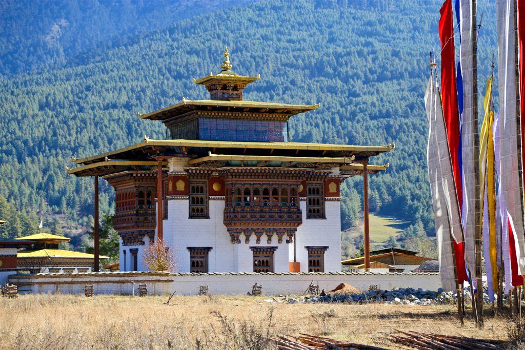 Le nouveau temple édifié par la reine mère