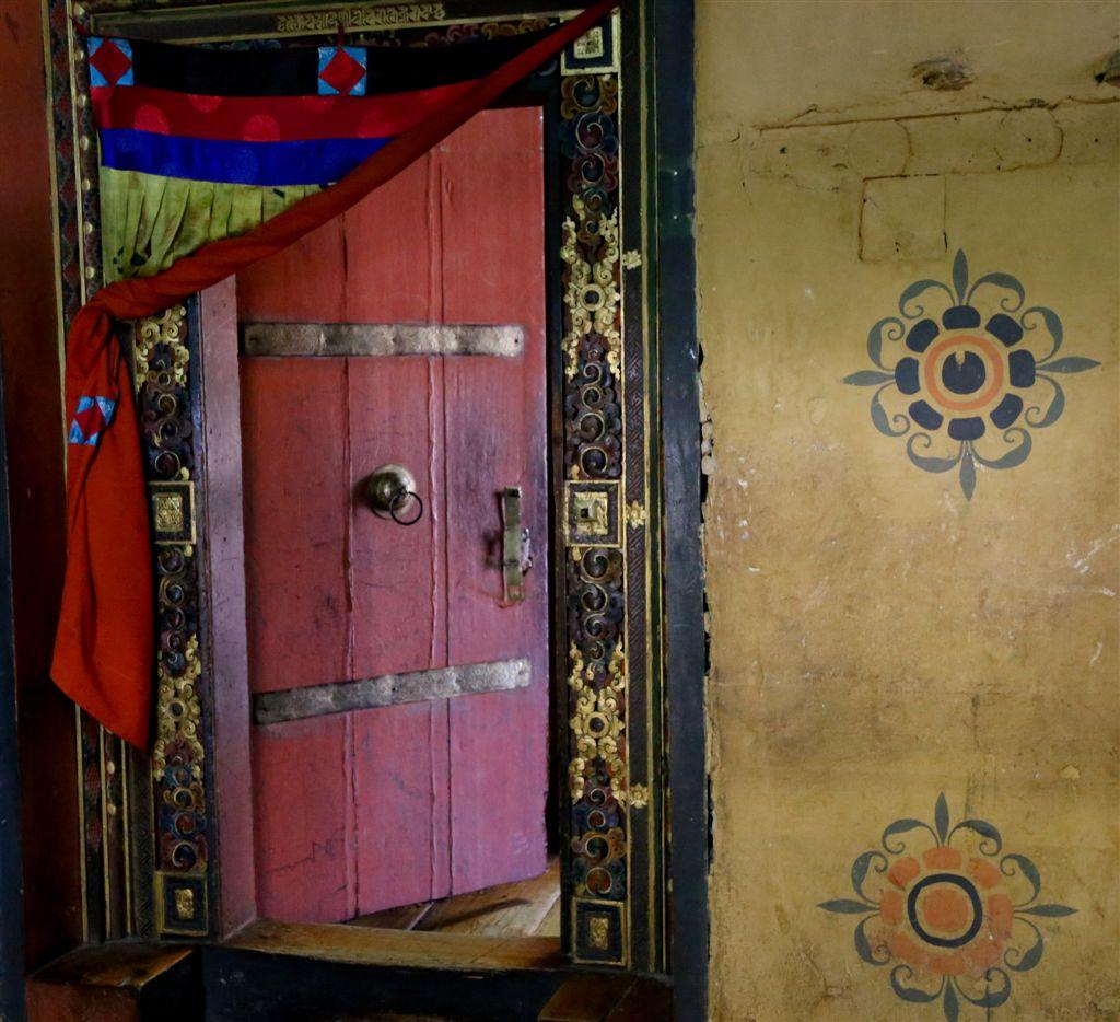 Entrée dans le temple de Padmasambhava