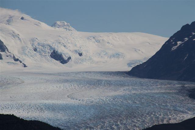 Détails sur le glacier Grey