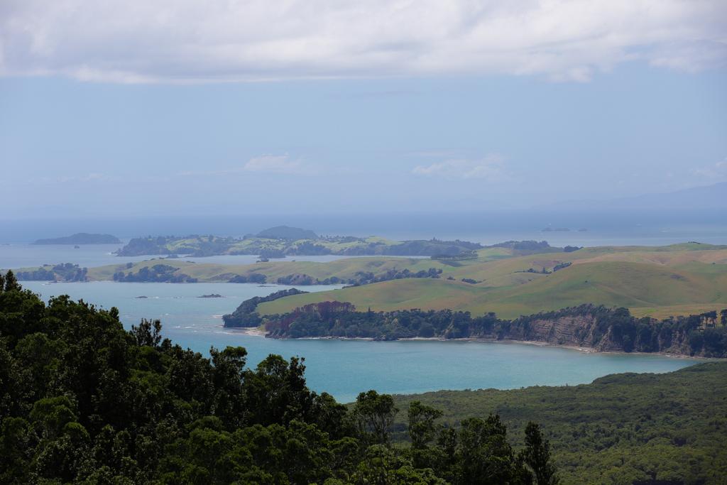 Vues sur des îles dans la baie