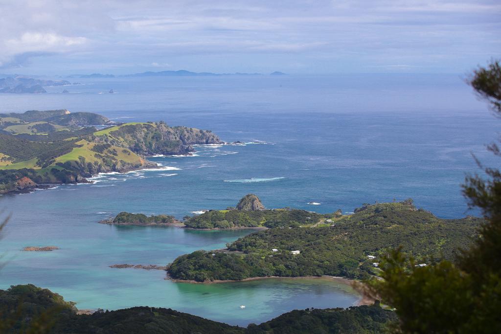 La Bay of Islands mérite bien son nom