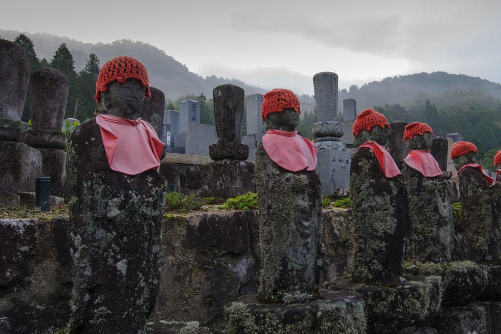 Dans le cimetière de Tsumago