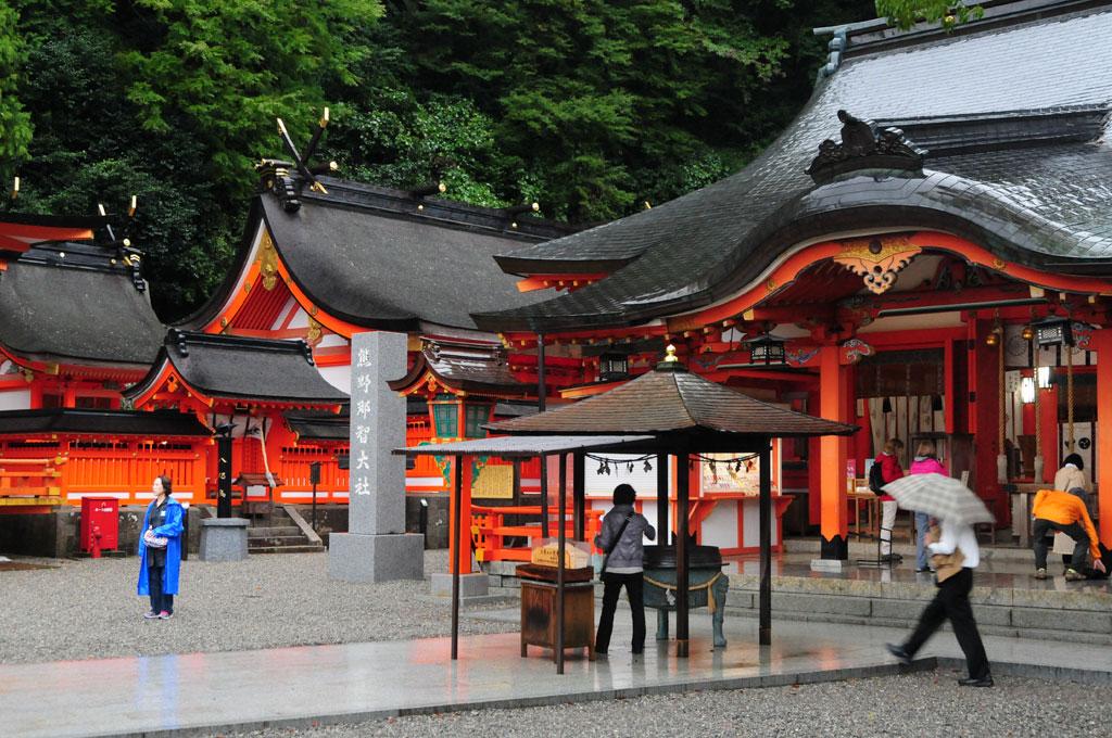 Hayatama Taisha, un des sanctuaires du Kumano Kodo