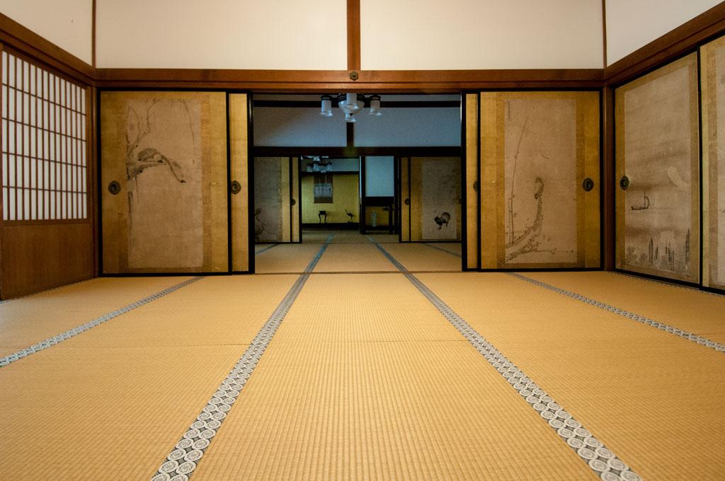 Salle intérieure du Konkobuji