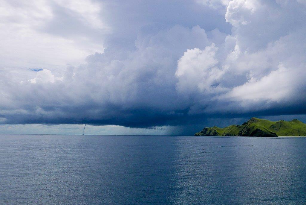 L'orage se rapproche de Banta