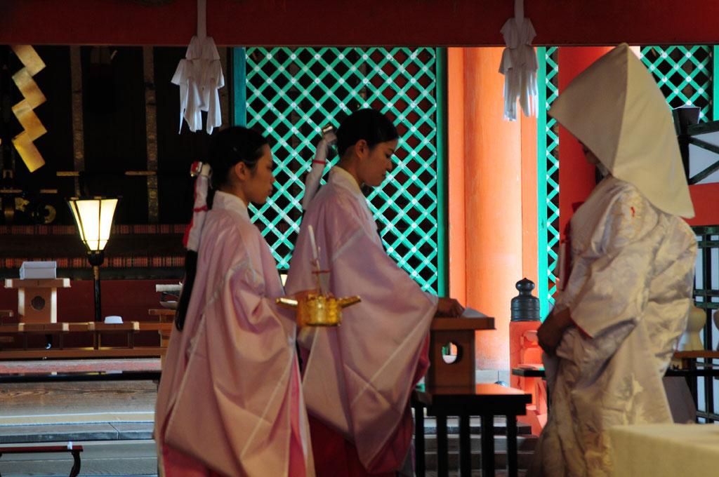 Mariage dans le Sanctuaire de Istukushima  , Miyajima