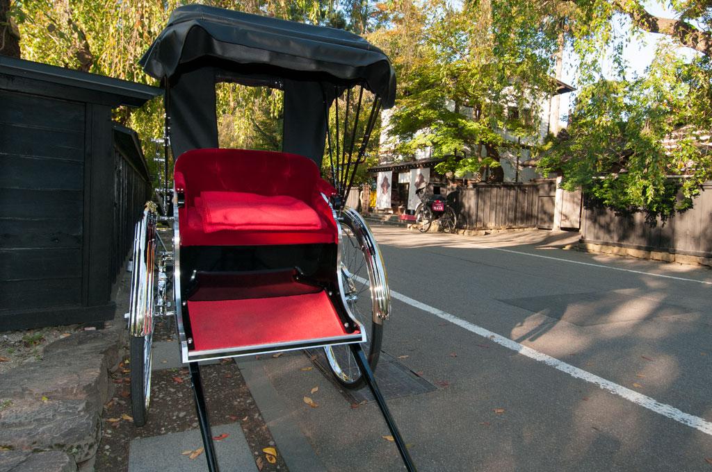 Les rikshaw de Kakunodate