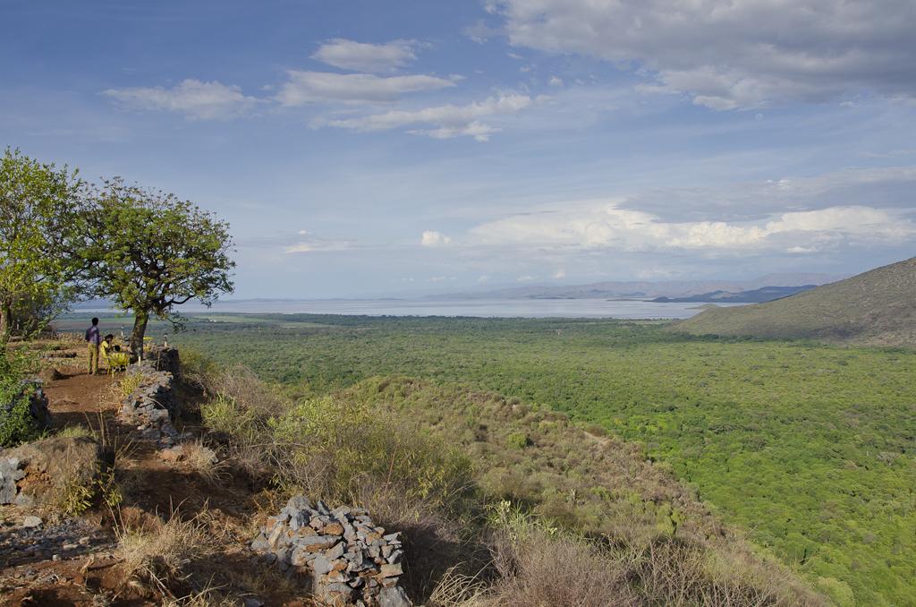 Panorama depuis notre lodge à Arba Minch