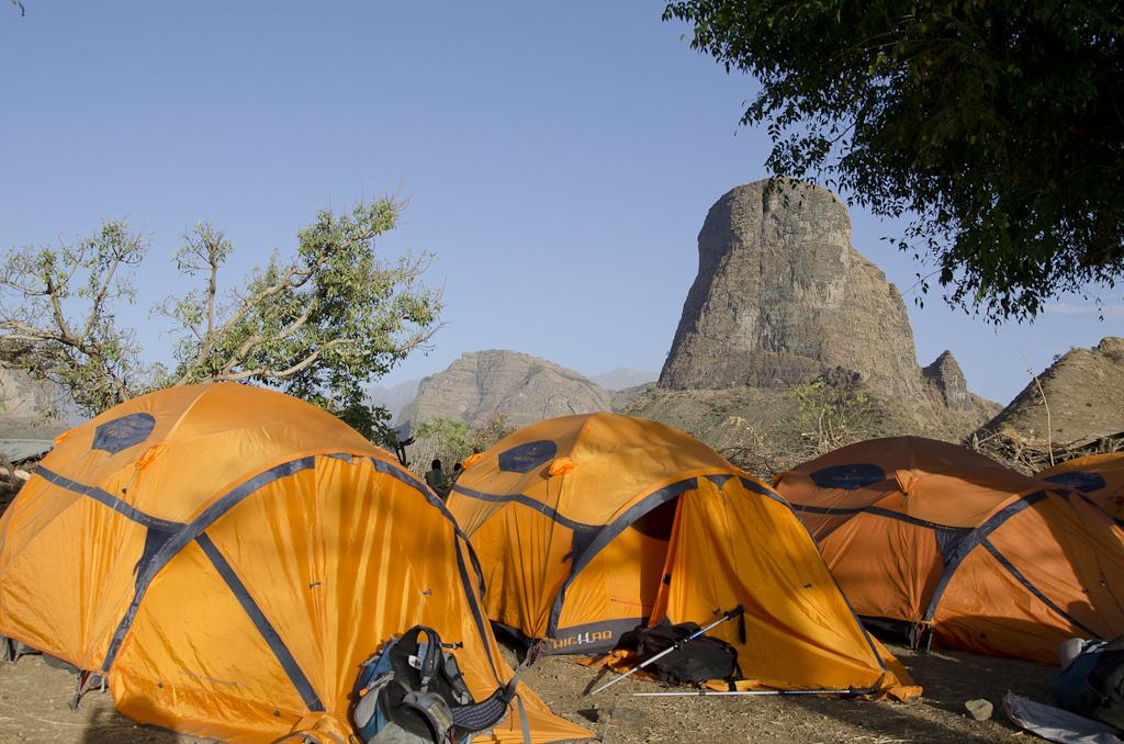 Camp à Mulit