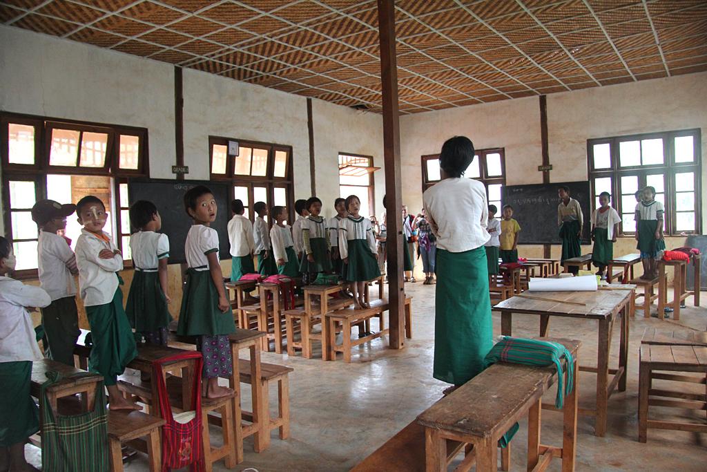 Chants dans l'école