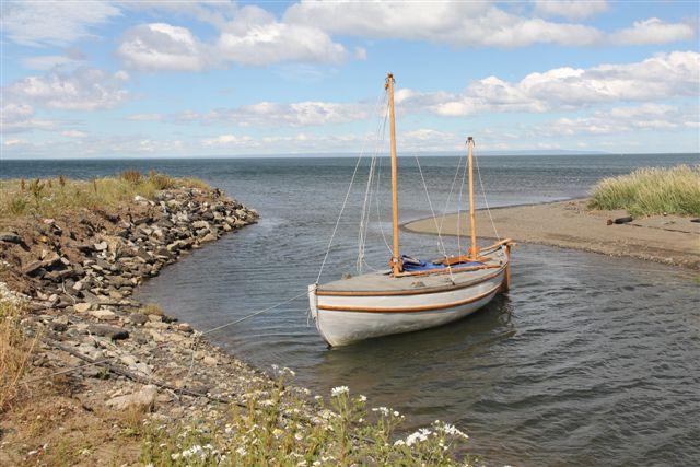 Copie de la barque de Shackleton