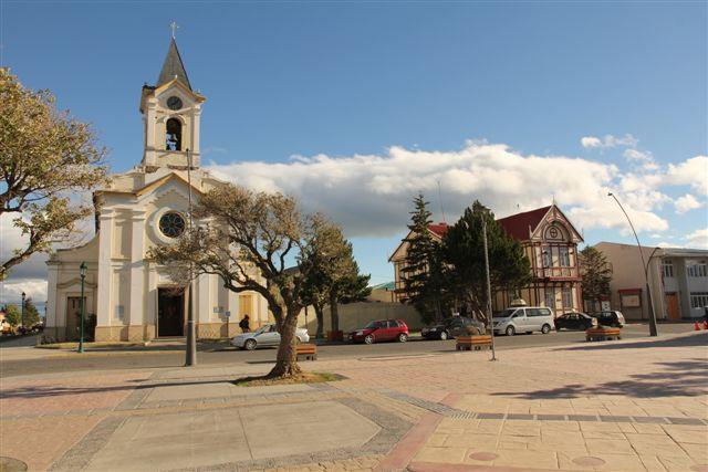 Plaza de Armas de Puerto Natales