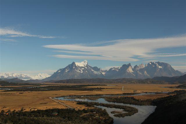 Départ de Tyndall, la vue d'ensemble du massif