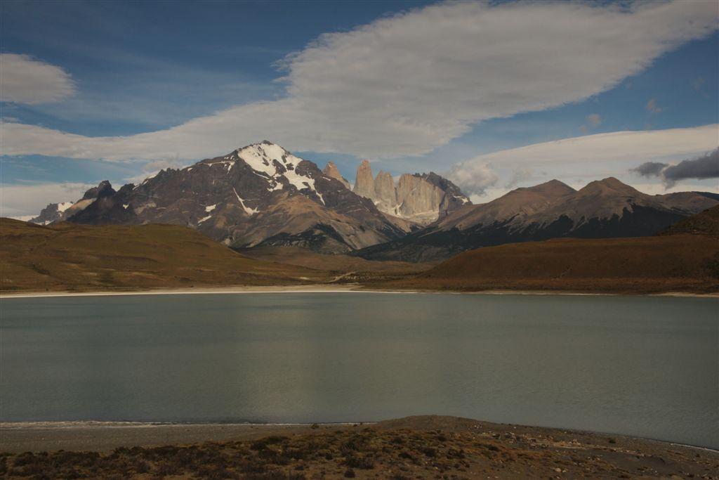 Las Torres depuis la laguna Amarga