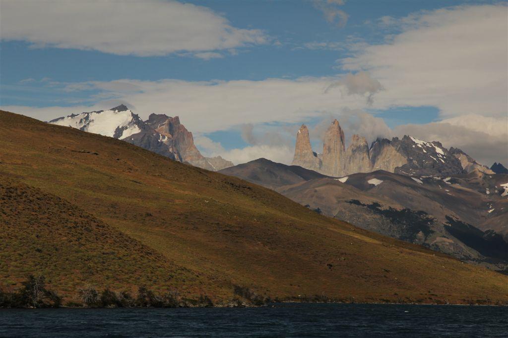 Las Torres depuis Laguna Azul