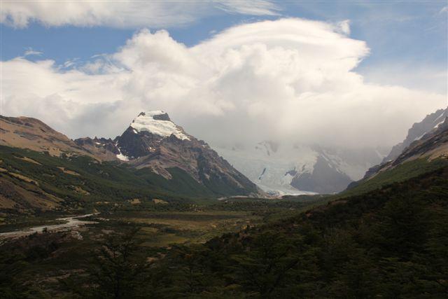 Vallée de las Torres, le Cerro Solo domine le paysage