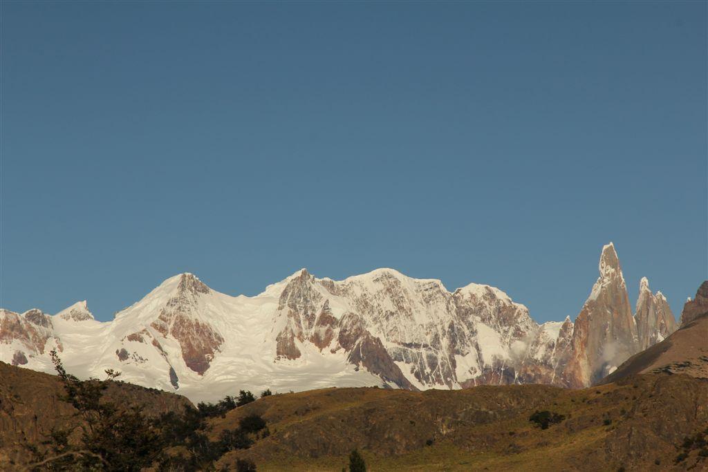 Le Cordon Adela et le Cerro Torre