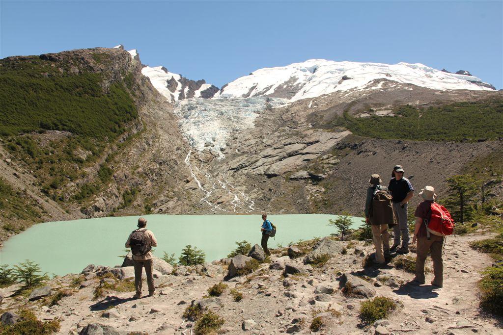 Laguna et glacier Huemul