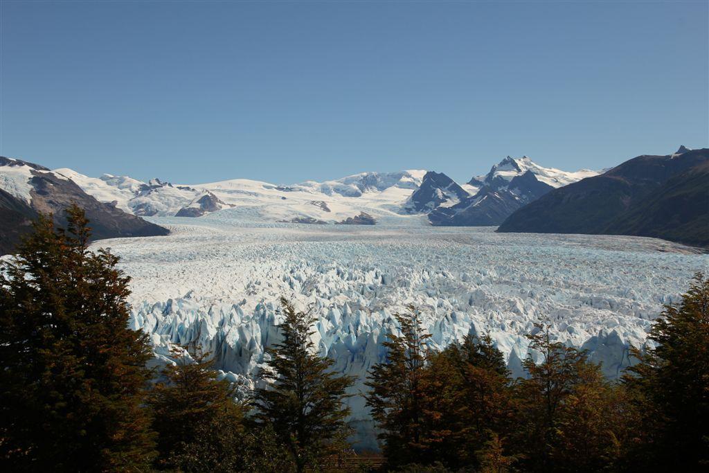 Majesté du glacier Perito Moreno