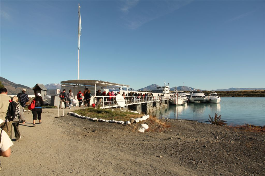 Le port de Punta Bandera