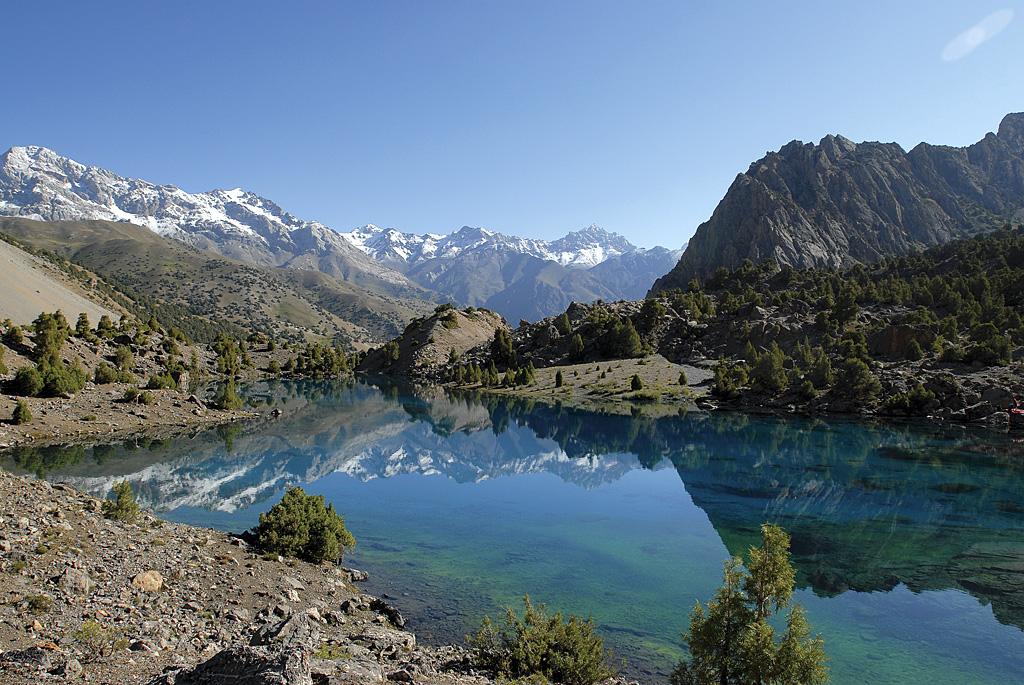 Tadjikistan, lac Alawudin