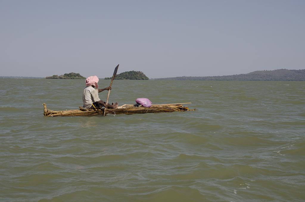 Tankwa (pirogue en papyrus) sur le lac Tana
