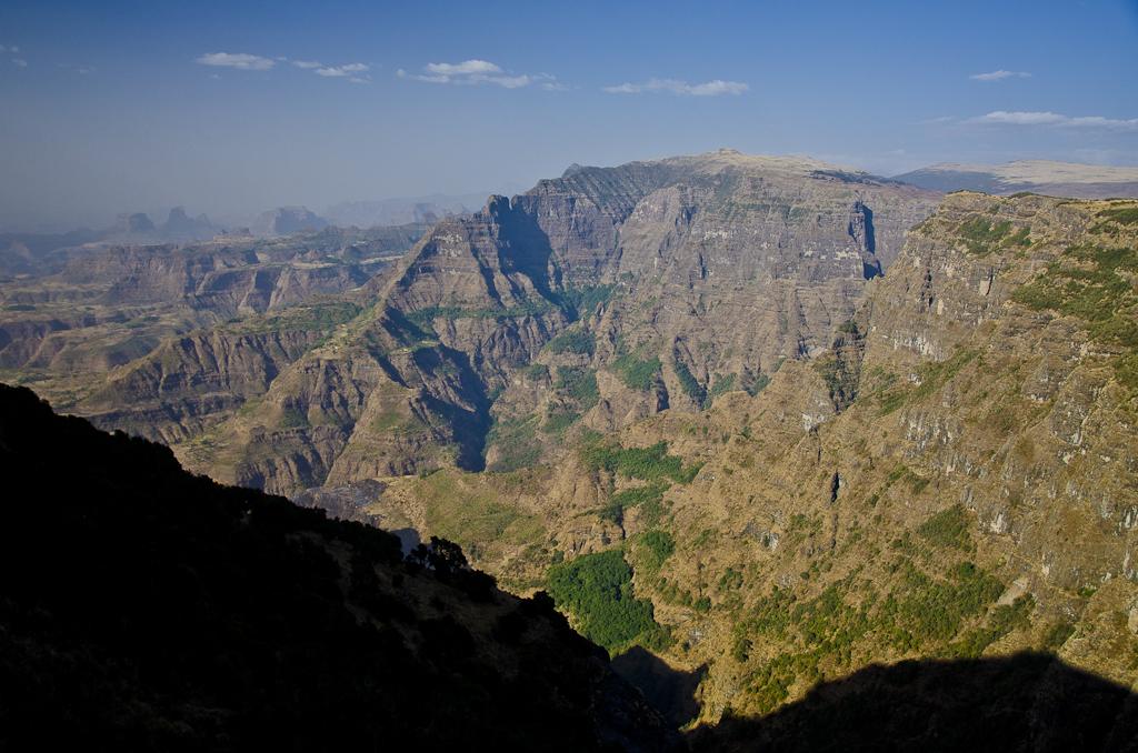 Montagnes du Simien, entre Sankaber et la cascade de Jinbar