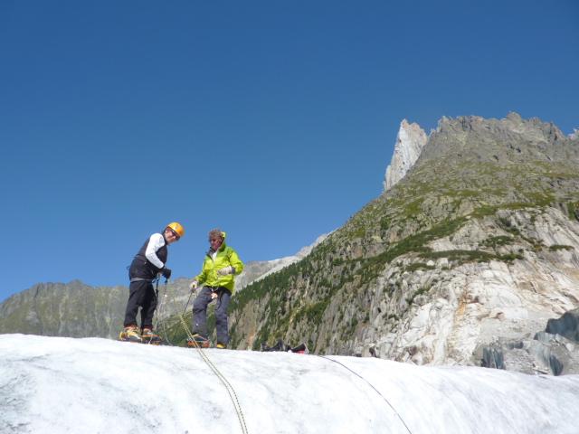 École de glace à Chamonix