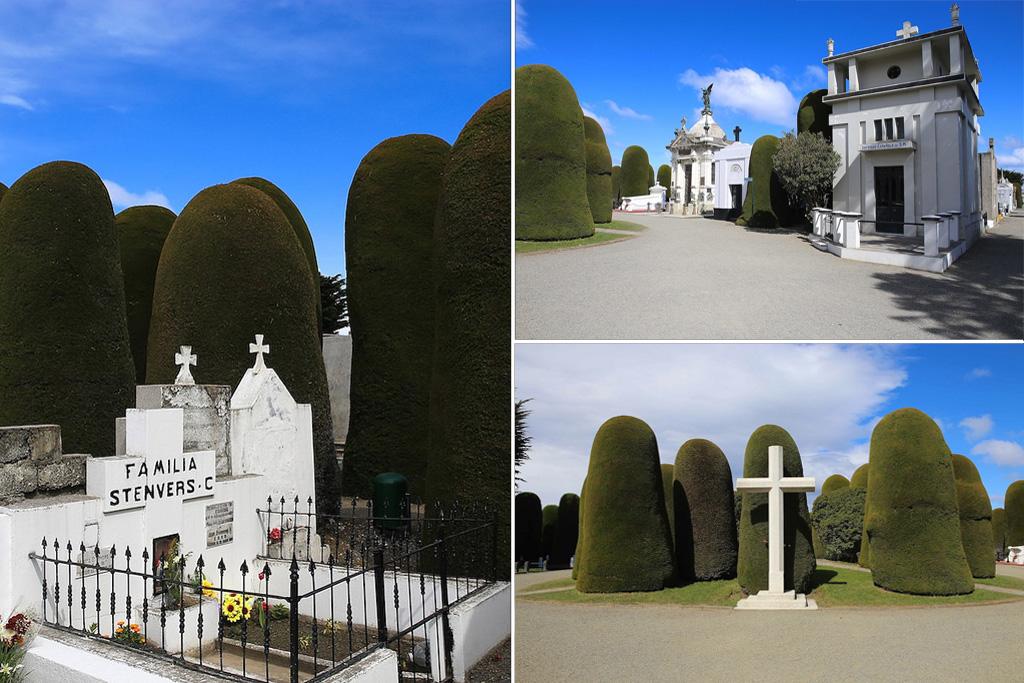 L'étonnant cimetière de Punta Arenas