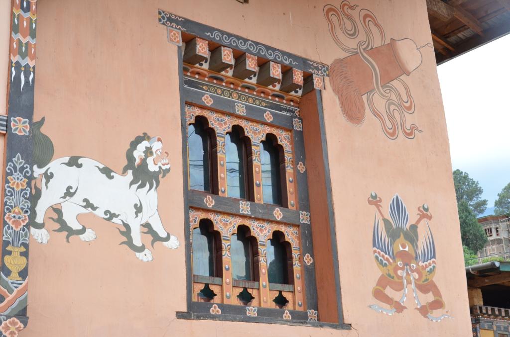 Peinture sur les façades des maisons