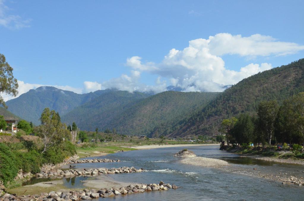 Dans la vallée de Punakha